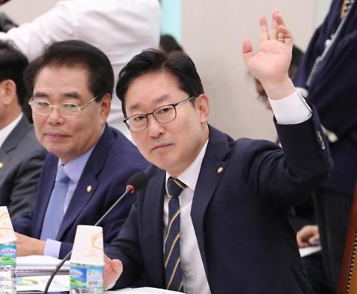 """박범계 """"김기현 제보 문건 받은 적 없어…회견문 받았을 뿐"""""""