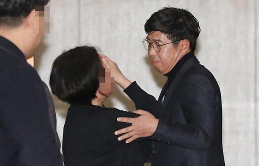 김조원·백원우 전·현직 靑 참모진, 檢 수사관 빈소 조문