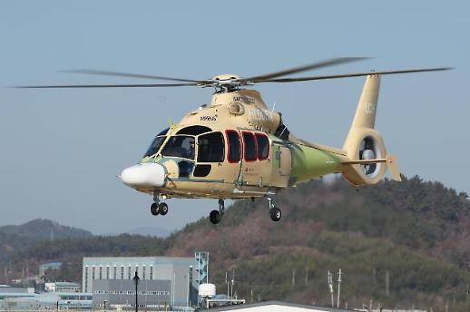 KAI, 국내 제작 소형민수헬기 '초도비행시험' 성공