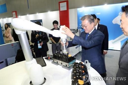 한국, 산업용 로봇 도입 4위로 후퇴…다양한 정책 지원 필요