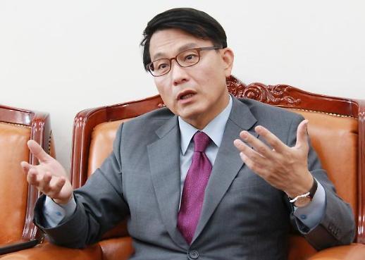 윤상현, 한국당 원내대표 출마 철회…심재철·유기준·강석호·김선동 '4파전'