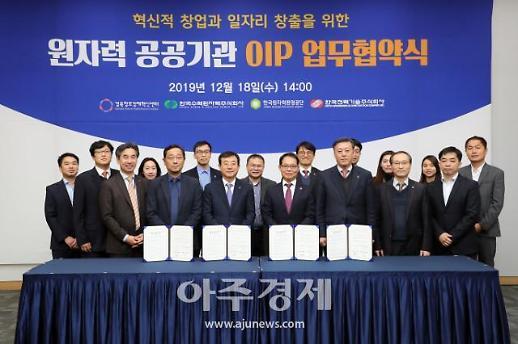 한국원자력환경공단, 열린혁신 플랫폼 구축 협약 체결