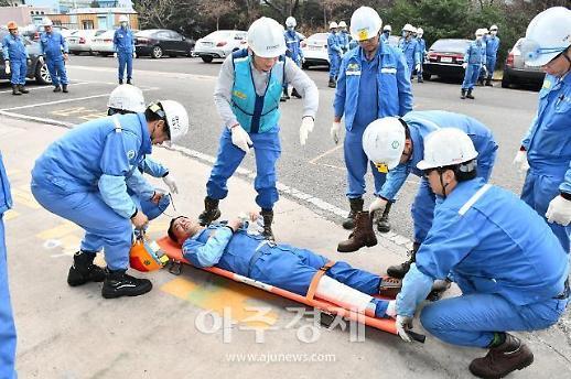 포항제철소, 2019년도 하반기 지진 비상대응 훈련 실시