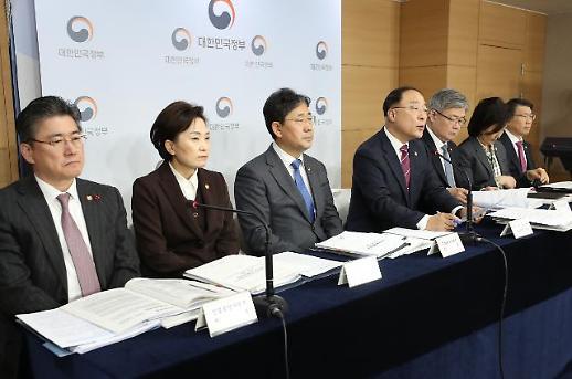 [2020경제정책-일문일답] 홍남기 내년 제로 베이스에서 규제 개혁 검토