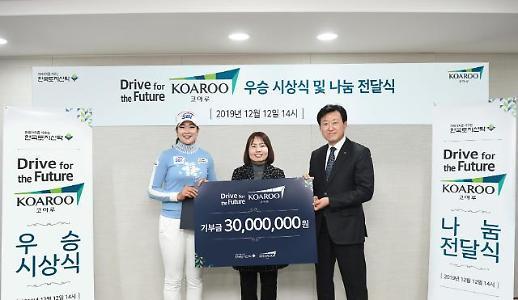 한국토지신탁, 드라이브 포 더 퓨처 코아루 시상식 개최