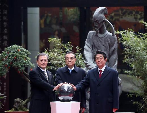 다층적 FTA·철도공동체로 뭉치는 韓·中·日…성큼 다가선 동아시아 경제통합