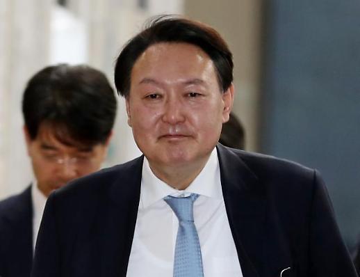 윤석열·추미애, 법무부 장관 취임 후 첫 만남