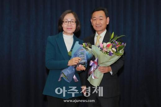 [포토] 권미혁 의원, 베스트상 수상 (아주경제 베스트 의정대상)