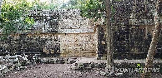 멕시코 유카탄 반도에서 천년 전 마야 궁전 발견