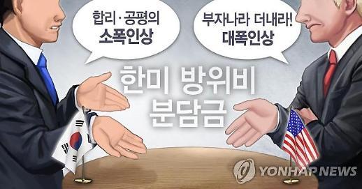 """""""美, 주한미군 방위비 구체적 증액안 마련해야""""-WSJ"""