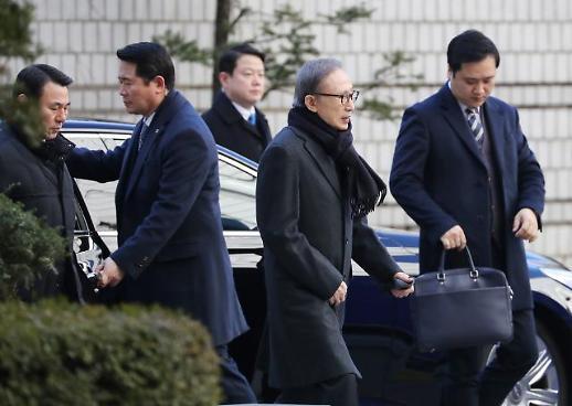 횡령·뇌물혐의 이명박 전 대통령 오늘 항소심 결심공판