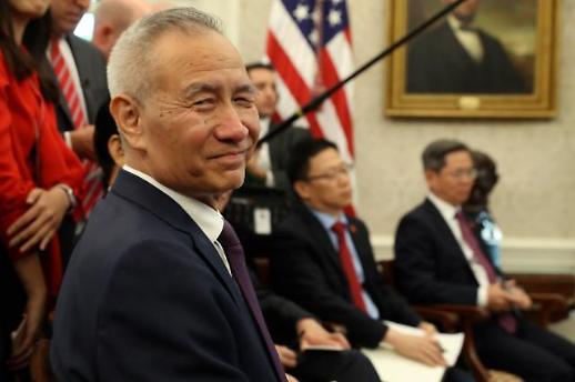 중국 상무부 류허 부총리, 미중 1단계 합의 서명차 13~15일 방미