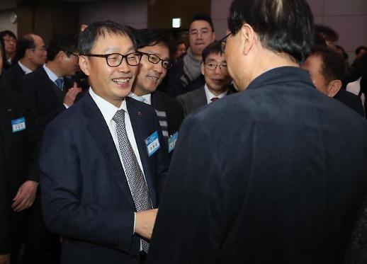 [포토] 밝은 표정의 구현모 KT 신임 CEO 내정자