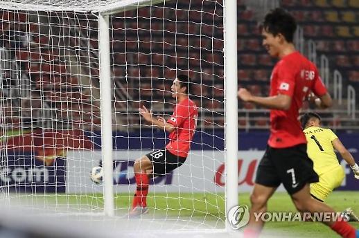 한국, U-23 우즈벡戰 2-1승…조 1위 8강 진출