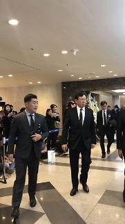 [신격호 명예회장 별세(영상)] 신동빈 롯데 회장, 빈소서 침통한 표정·충혈된 눈