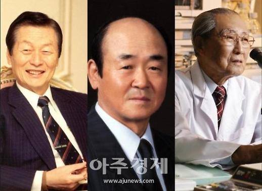 [신격호 명예회장 별세] 별이 된 식품업계 1세대···신격호·윤덕병·정재원