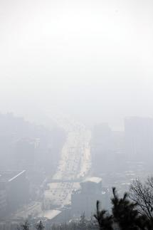 중국발 고농도 미세먼지 시작…다음주 초까지 나쁨