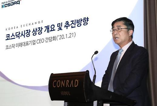거래소, 코스닥 미래 대표기업 CEO 간담회 개최