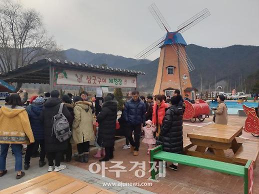 경북 봉화 분천 산타마을, 겨울철 대표 관광지로 각광