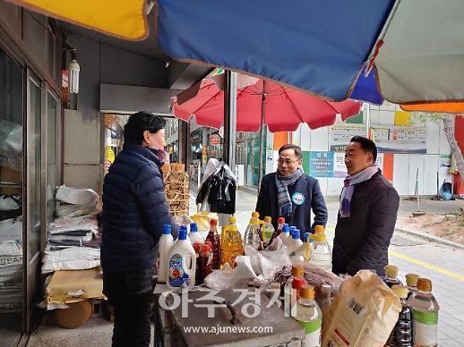 허대만 민주당 포항남·울릉 예비후보, 출마선언 후 본격 민심 행보