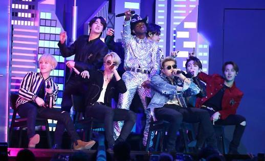 [포토] BTS, 한국 가수 최초 그래미 공연 (2020 그래미)
