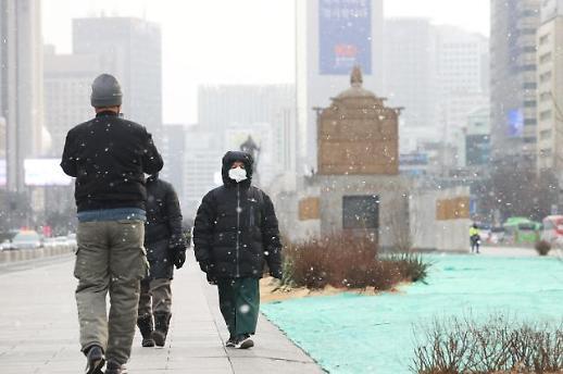 [포토] 서두르는 봄이 아쉬원 힘을 내보는 눈송이