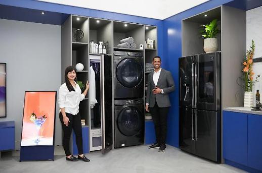삼성전자, 미국 가전시장 역대 최고 점유율…건조기·세탁기·냉장고 모두 1위