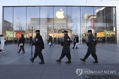 애플, 중국 매장 10일 개장 불투명...신종 코로나 우려