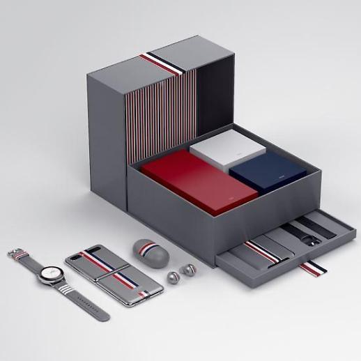 [포토] 명품 생태계 구축 노리는 삼성 갤럭시, 톰브라운과 협업