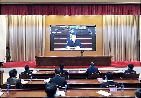산동성 외자프로젝트 영상 체결식 개최 [중국 옌타이를 알다(438)]