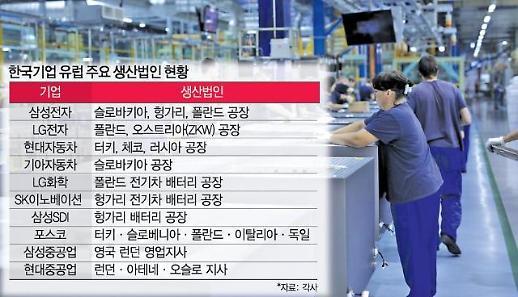 코로나19 확산에 韓 유럽법인도 예의주시...입국제한 장기화할까 우려