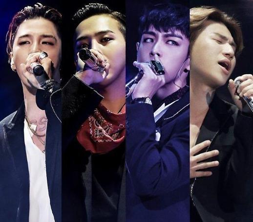 BIG BANG, Ký tiếp hợp đồng với YG Entertainment → Sân khấu trở lại tại lễ hội âm nhạc Coachella bị lùi ngày