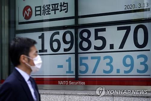 [코로나19] 코로나 쇼크에 또 무너진 日증시...닛케이 6.08% 폭락