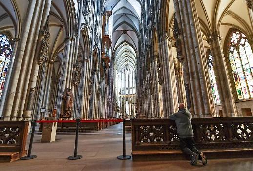 [포토] 쾰른 대성당도 예배 취소하는데, 대체 왜?