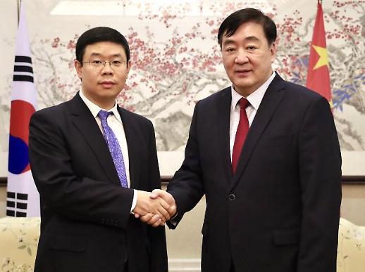 [포토] 주한중국대사관 왕웨이 대변인 임명