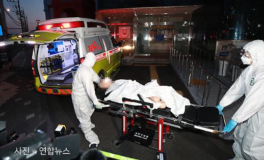[코로나19 PIC] 75명 집단 확진 대구 한사랑요양병원 이송 현장
