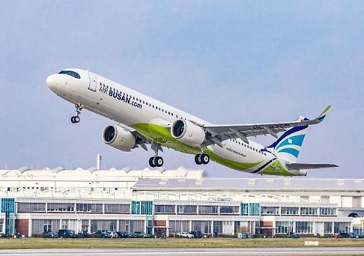에어부산, 동아시아 최초로 차세대 항공기 에어버스 A321LR 도입