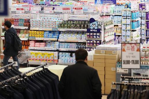 Hàn Quốc tiêu thụ chậm chạp vì Covid 19... Chỉ số giá sản xuất tháng 2 đã giảm 0,3%