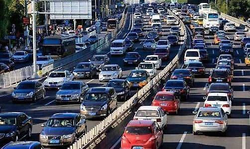 중국 수도 베이징 자동차 소비 부양카드 만지작