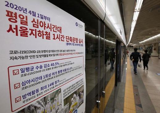 [포토] 사회적 거리두기, 지하철 운행도 줄인다