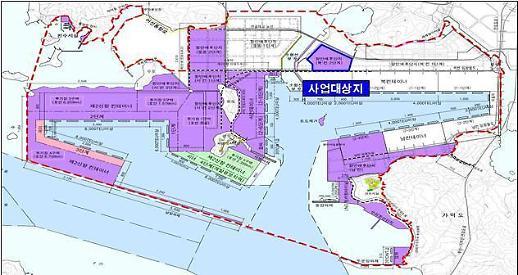 부산신항 북 컨테이너 단지 조성 '부산항만공사' 선정