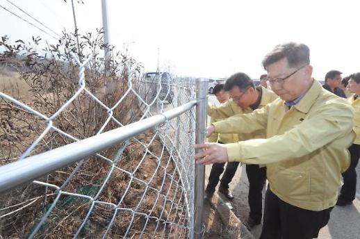 돼지열병 확산에 5월부터 395개 양돈농장 축산챠량 출입 통제