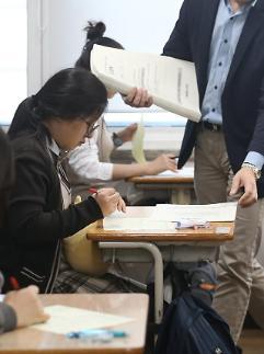 24일 학력평가 사실상 취소… 학생·학부모 등급컷 안 나오면 무의미(종합)