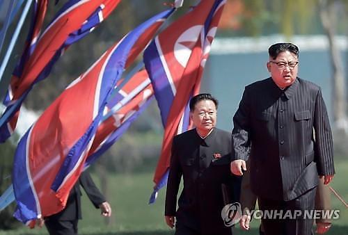 38노스 김정은 전용추정 열차, 북한 원산 역에 서 있다