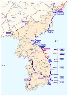 부산에서 북한 두만강까지 연결된다…동해북부선 53년 만에 복원키로