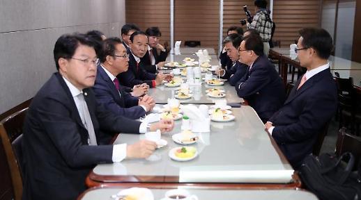 통합당 3선 당선인들 김종인 비대위 결정 전 당선자 총회부터