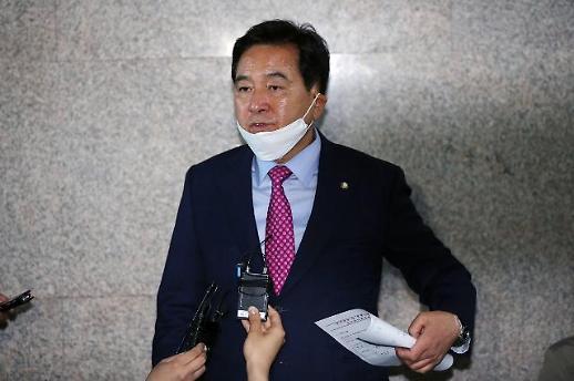 심재철 무소속 홍준표, 남의 당 일에 참견할 계제 아냐