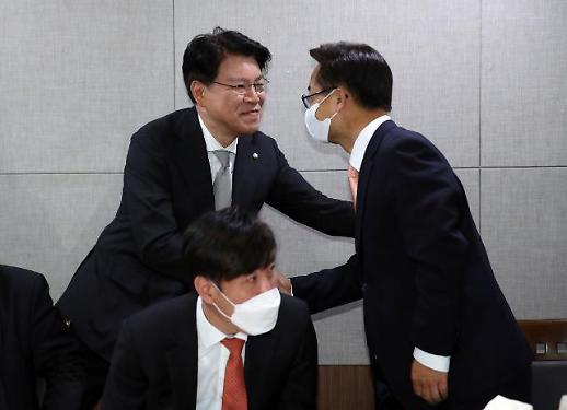 장제원 김종인 비대위 물 건너가…새 원내대표가 대표 겸직해야