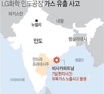 LG화학, 인도사고 수습에 총력…신학철 부회장 중심 비대위 가동