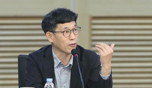 [포토] 미래통합당 토론회 온 진중권 교수